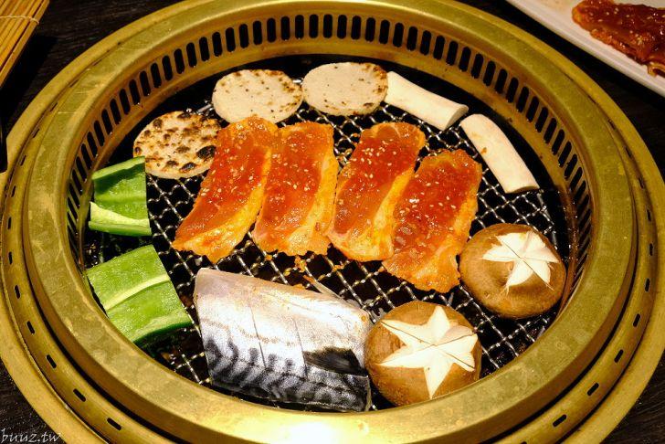 20210929185410 32 - 黑色風格燒肉店,Nikuniku 肉肉燒肉,豪華套餐品嚐極上牛小排、翼板牛小排