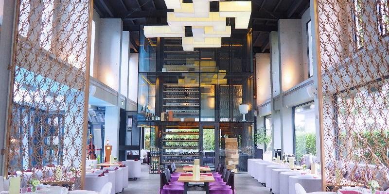 Beluga Restaurant & Bar法式餐酒館,優雅池畔旁享受美饌佳餚,氣氛絕佳越夜越美麗!(台中餐酒館/台中法式料理/台中宵夜/台中約會餐廳/試吃)