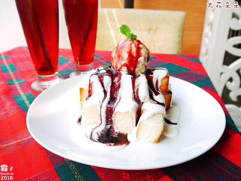 大花朵朵主題餐廳,有美味的義大利麵也有精緻的排餐料理,雙人下午茶還有迷人的蜜糖土司唷!(台中義式/台中排餐/台中下午茶/台中寵物友善餐廳/試吃)