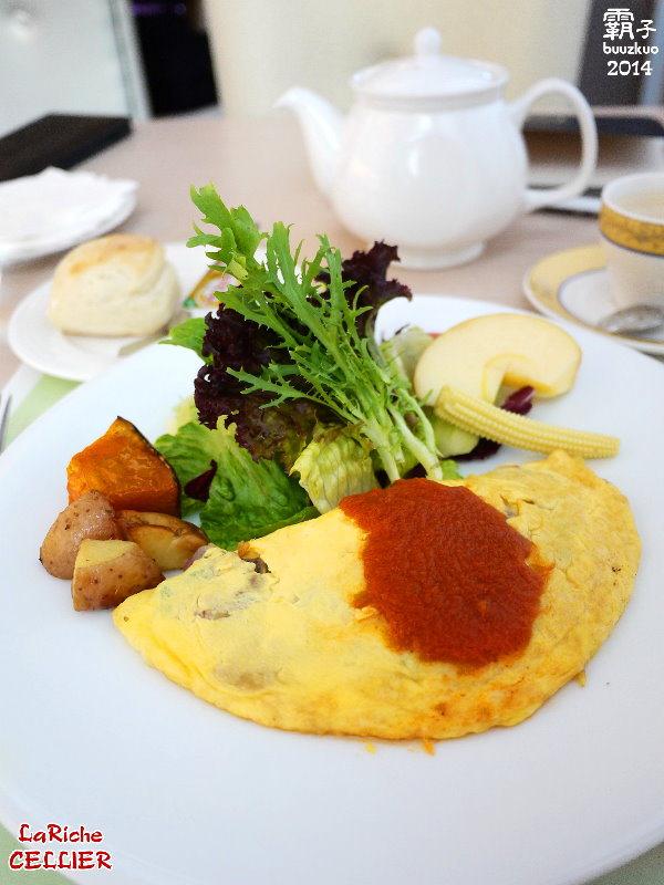 La Riche CELLIER瑞德餐廳,結合酒窖概念的義法餐廳,假日限定的歐式早餐給你滿滿活力!!