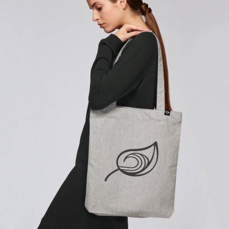 Bolsa tote de algodón reciclado(Tote Bag)