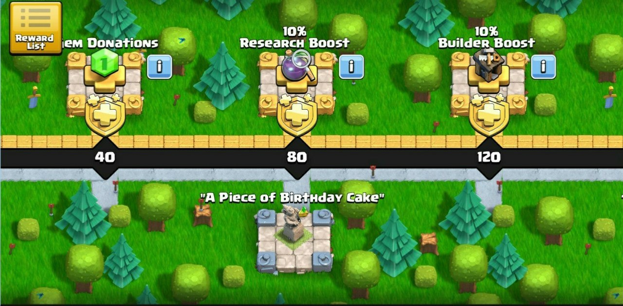 Party King Clash Of Clans Is Celebrating Its 8th Clashiversary Buy Clash