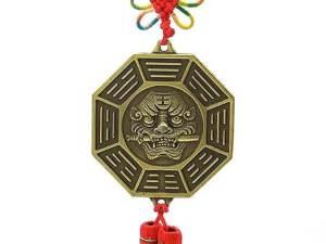 12 Horoscope Pa Kua with Lion Head Talisman