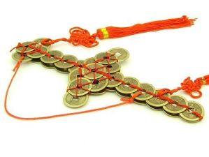 "9"" Feng Shui Protective Coin Sword"
