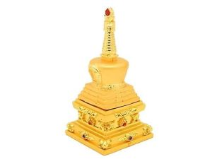 Bejeweled Earth Stupa