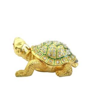 Bejeweled Golden Tortoise