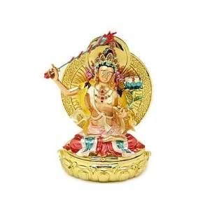 Bejeweled Manjushri Buddha Of Wisdom and Knowledge1