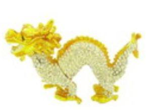 Bejeweled Wish-Fulfilling Extravagant Dragon