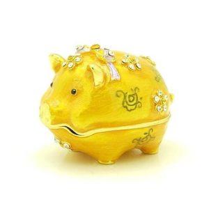 Bejeweled Wish-Fulfilling Golden Piggy1