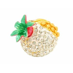 Bejeweled Wish-Fulfilling Pomegranate for Infant Luck1