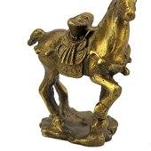 Brass Horse Carrying Gold Ingot (S)