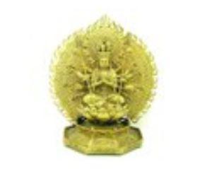 Brass Thousand-Arm Kuan Yin Goddess of Infinite Mercy