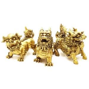 Chi Lin, Fu Dog & Pi Xiu Three Divine Guardians