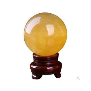 Citrine Crystal Sphere