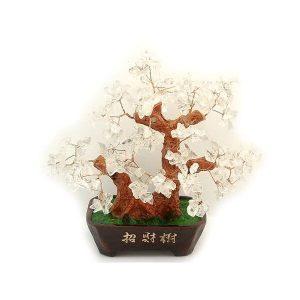 Clear Quartz Crystal Gem Tree1