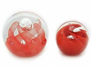 Crimson Red Crystal Ball