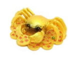 Feng Shui Crab with Coins
