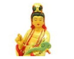 Goddess of Mercy Kuan Yin with Ruyi
