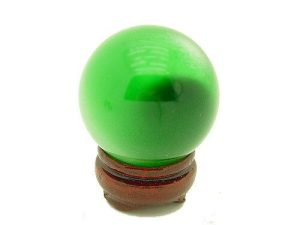 Green Cateyes Crystal Ball1