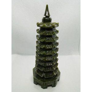 Green Jade 9 Level Pagoda