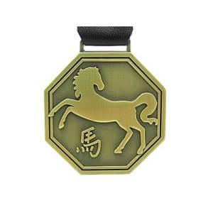 Hexagonal Horse Key Ring1