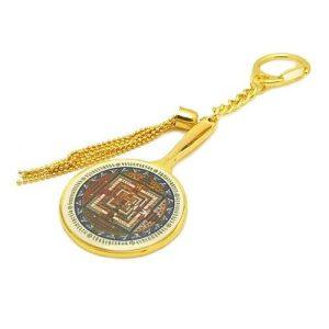 Kalachakra Mandala Mirror Amulet1