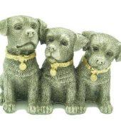 Lucky Pewter Three Little Puppies1