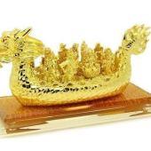 Nine Wealth Gods on Dragon Boat