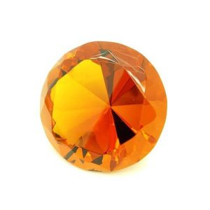Orange Wish Fulfilling Jewel for Wealth and Money Luck - 80mm1