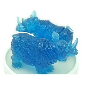 Pair of Protective Rhinoceros1
