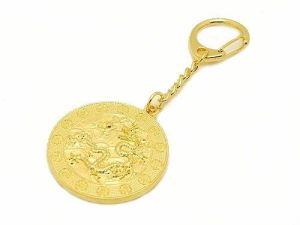Six Heaven Gold Coins Amulet