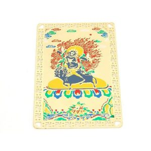 Tibetan Deity Palden Lhamo Protection Card Amulet1