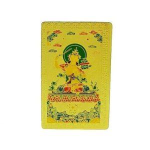 Tibetan God of Wisdom Manjushri Talisman1