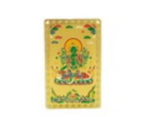 Tibetan Goddess Green Tara Talisman