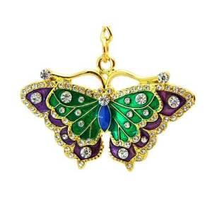 Wish-Fulfilling Butterfly Key Chain1