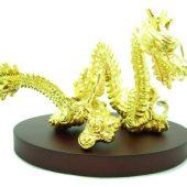 Auspicious Golden Dragon Grasping Crystal Ball1