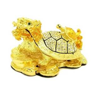 Bejeweled Dragon Tortoise with Baby1