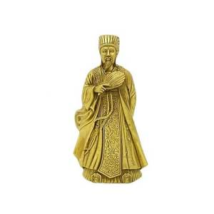 Brass Chu Ke Liang For Wisdom1