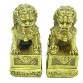 Brass Fu Dogs for Protection (1 Pair)1