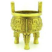 Brass Incense Burner Wealth Pot1