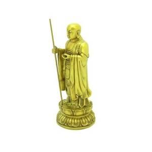 Brass Ksitigarbha Ti Zhang Wang Pu Sa1
