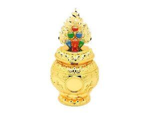 Cintamani Jewel with Eight Auspicious Symbols Treasure Vase1