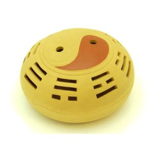 Clay Sand Zisha Yin Yang Incense Burner1