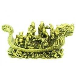 Feng Shui Eight Immortals on Dragon Boat