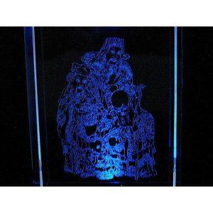 Fuk Luk Sau 3D Laser Engraved Glass with Light Base1