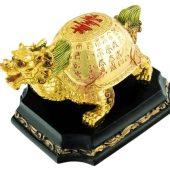 Golden Longevity Fengshui Dragon Tortoise