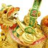 Golden Superior Dragon Tortoise With Ruyi5