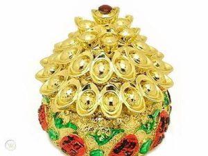 Golden Wealth Pot Full of Gold Ingots