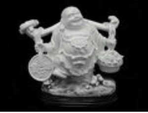 Good Fortune Laughing Buddha with Large Ruyi