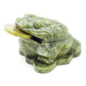 Green Jade Money Frog
